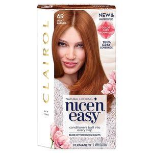 Clairol Nice 'n Easy Hair Color, [6R] Light Auburn